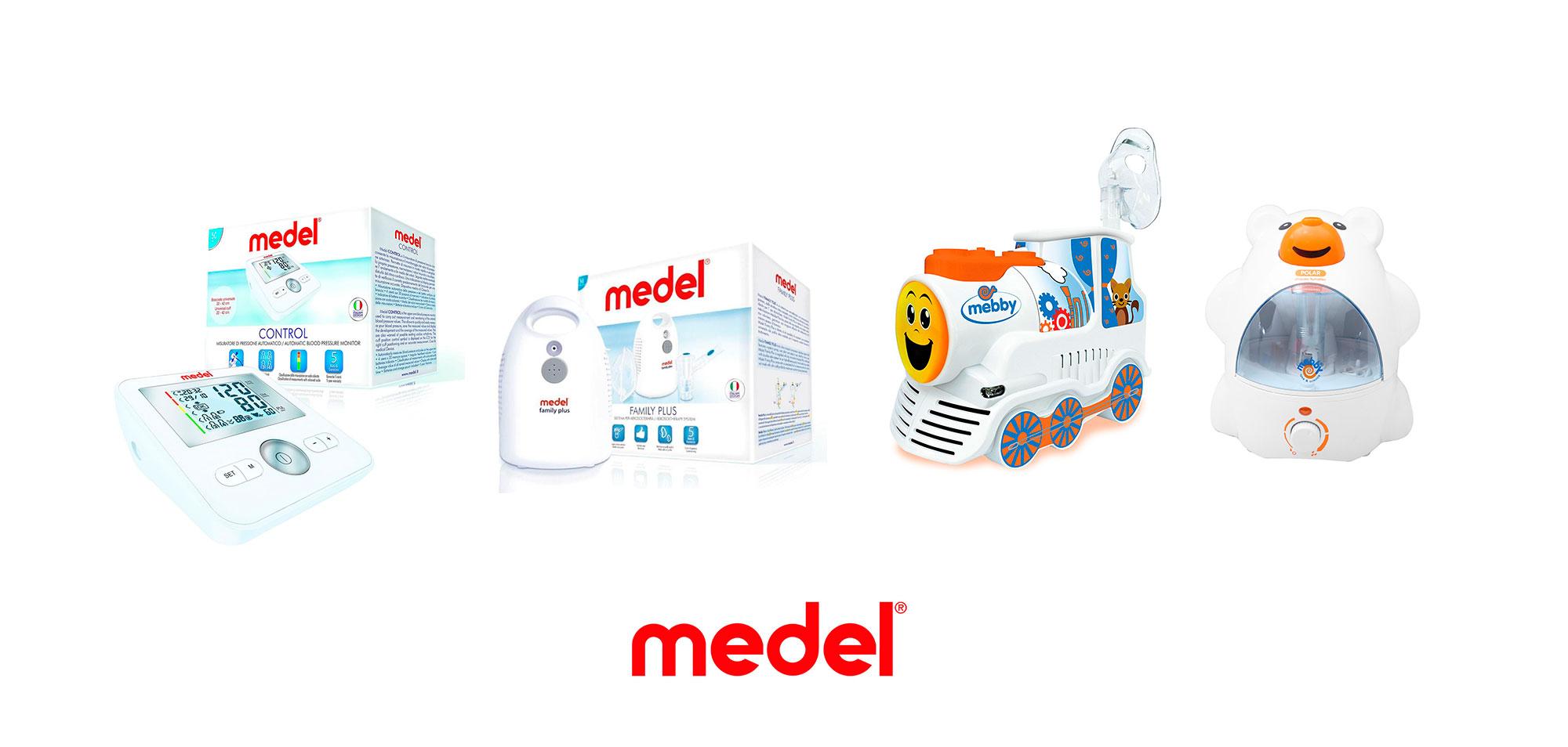 prodotti elettromedicali Medel disponibili da Sanisfera