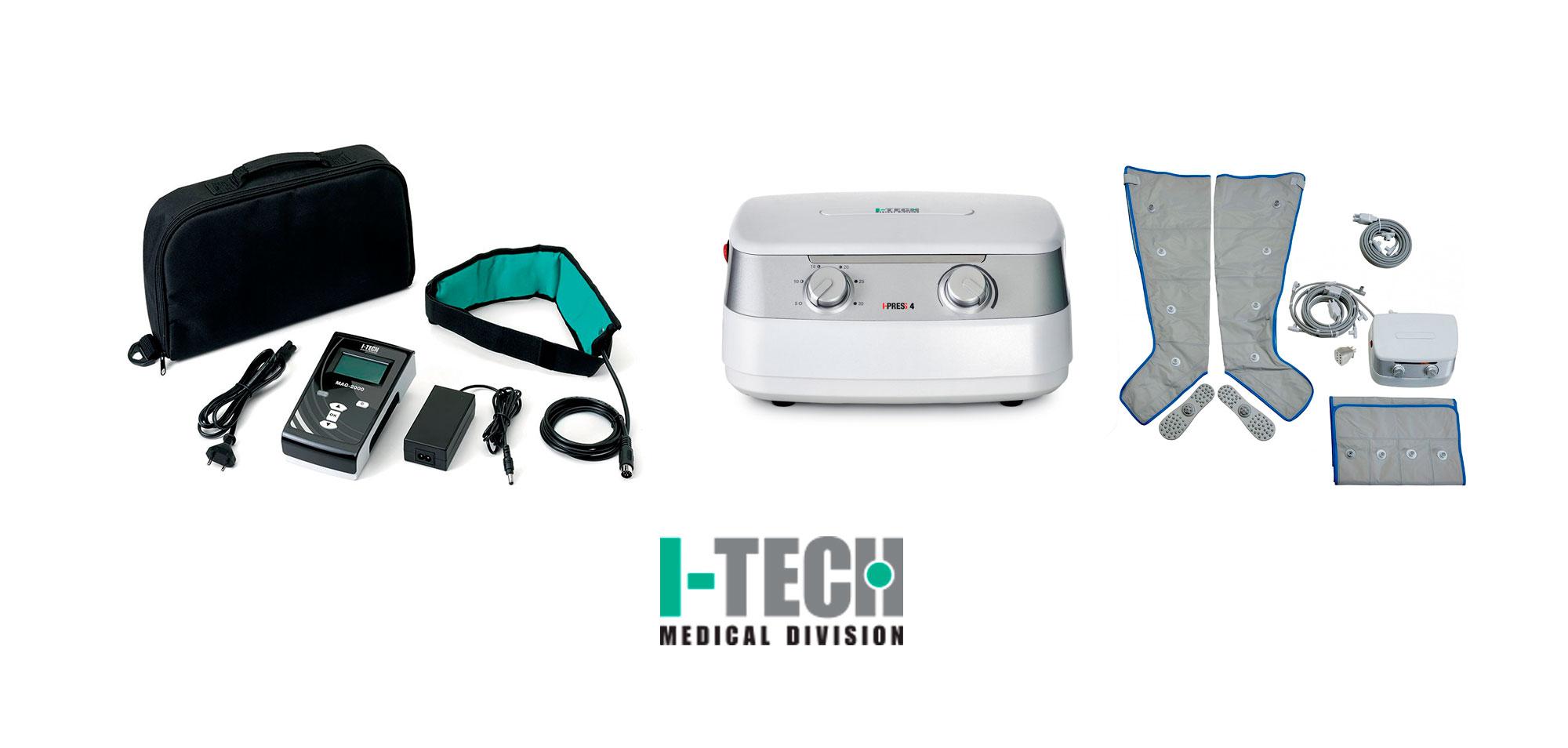 prodotti elettromedicali I-TECH disponibili da Sanisfera