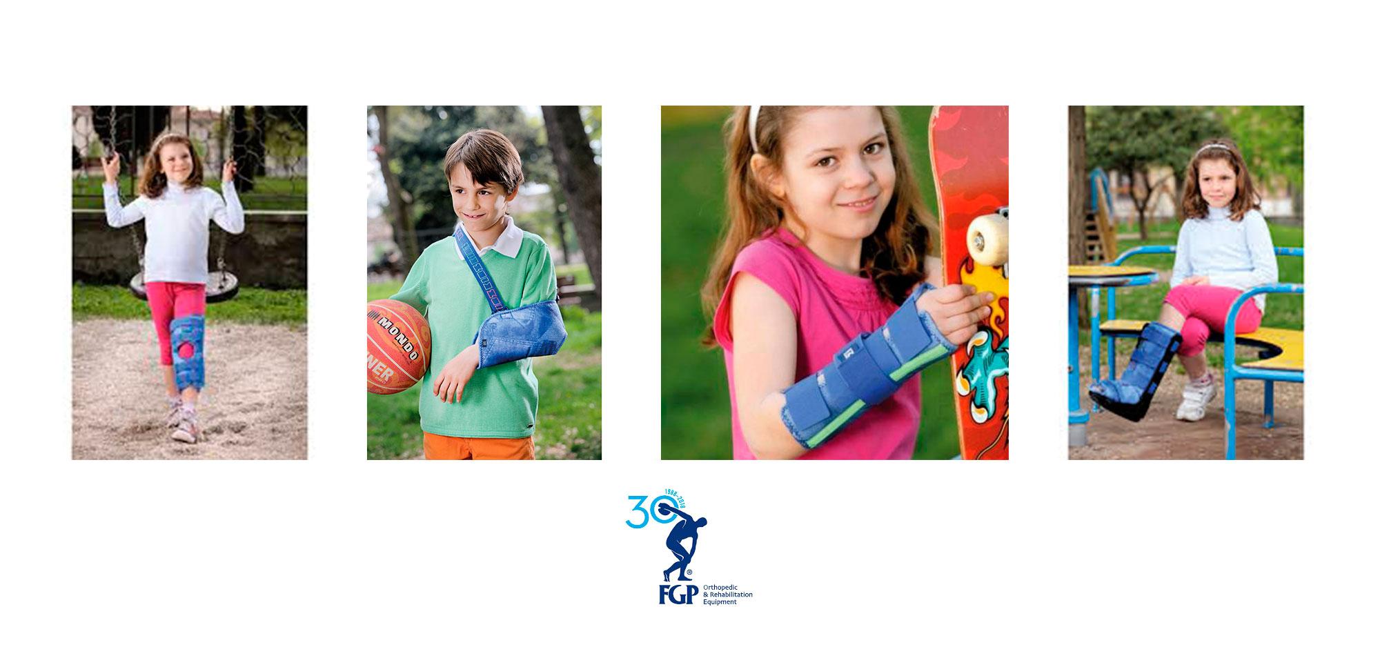 supporti ortopedici per bambini disponibili da Sanisfera