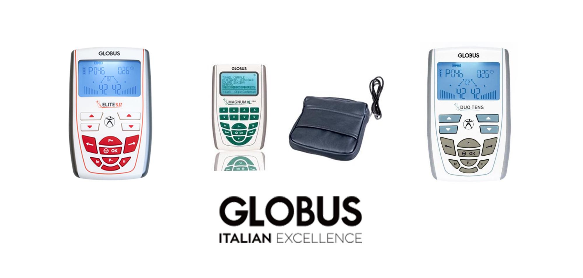 prodotti elettromedicali Globus disponibili da Sanisfera